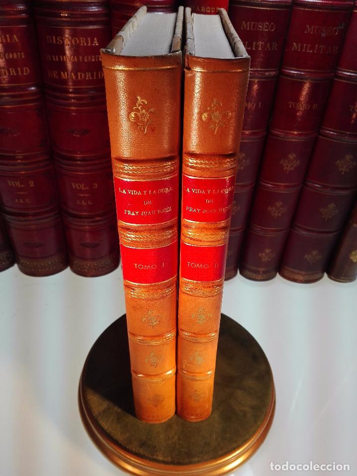 LA VIDA Y LA OBRA DE JUAN RICCI - ELÍAS TORMO Y MONZÓ - 2 TOMOS - MADRID - 1930 - (Libros Antiguos, Raros y Curiosos - Biografías )