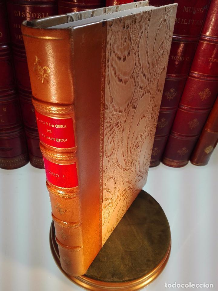 Libros antiguos: LA VIDA Y LA OBRA DE JUAN RICCI - ELÍAS TORMO Y MONZÓ - 2 TOMOS - MADRID - 1930 - - Foto 2 - 101320755