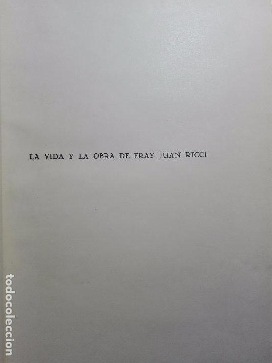 Libros antiguos: LA VIDA Y LA OBRA DE JUAN RICCI - ELÍAS TORMO Y MONZÓ - 2 TOMOS - MADRID - 1930 - - Foto 3 - 101320755