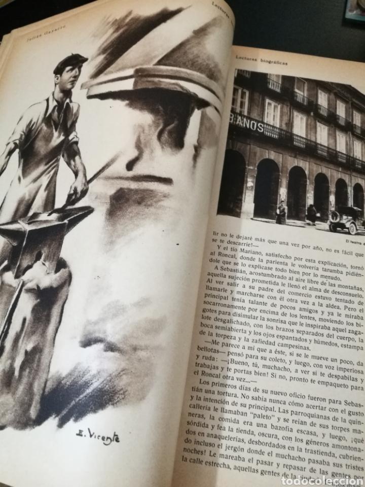 Libros antiguos: LECTURAS BIOGRAFICAS / NOVELAS CORTAS DE REVISTA LECTURAS ARTE Y LITERATURA 30S.TOMO ÚNICO VER INFO - Foto 5 - 101323167