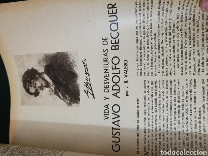 Libros antiguos: LECTURAS BIOGRAFICAS / NOVELAS CORTAS DE REVISTA LECTURAS ARTE Y LITERATURA 30S.TOMO ÚNICO VER INFO - Foto 7 - 101323167