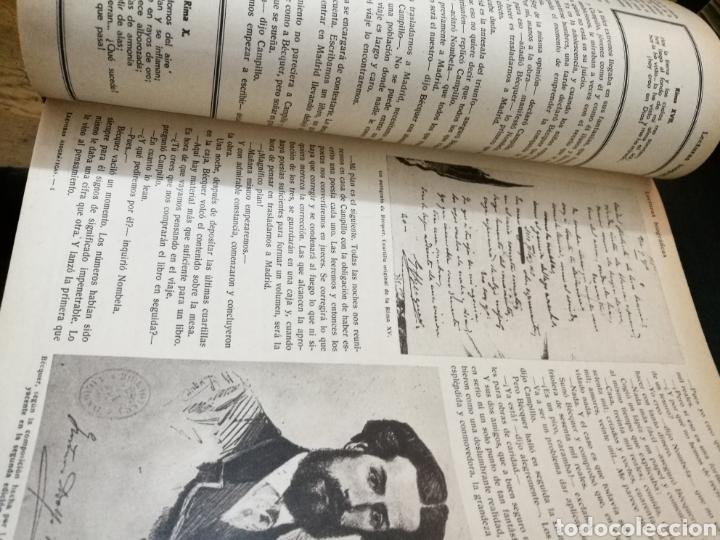 Libros antiguos: LECTURAS BIOGRAFICAS / NOVELAS CORTAS DE REVISTA LECTURAS ARTE Y LITERATURA 30S.TOMO ÚNICO VER INFO - Foto 9 - 101323167