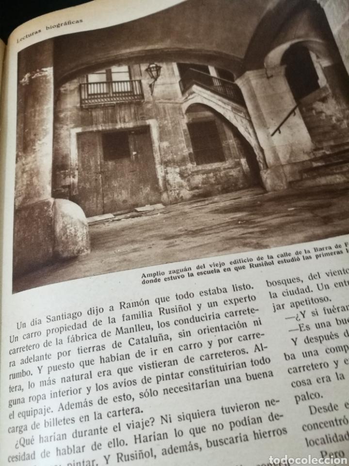 Libros antiguos: LECTURAS BIOGRAFICAS / NOVELAS CORTAS DE REVISTA LECTURAS ARTE Y LITERATURA 30S.TOMO ÚNICO VER INFO - Foto 20 - 101323167