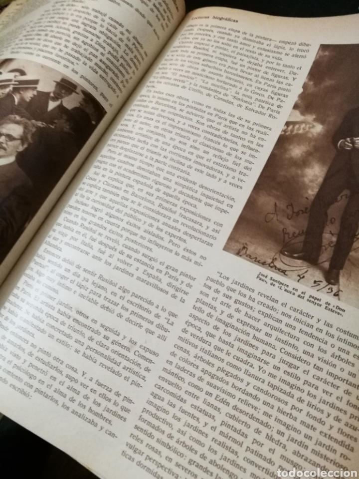 Libros antiguos: LECTURAS BIOGRAFICAS / NOVELAS CORTAS DE REVISTA LECTURAS ARTE Y LITERATURA 30S.TOMO ÚNICO VER INFO - Foto 24 - 101323167
