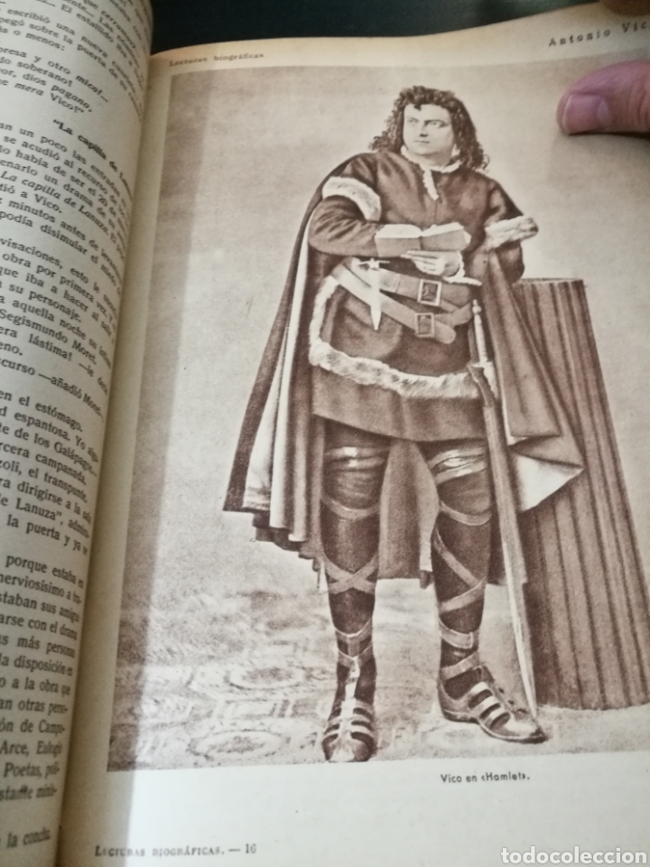 Libros antiguos: LECTURAS BIOGRAFICAS / NOVELAS CORTAS DE REVISTA LECTURAS ARTE Y LITERATURA 30S.TOMO ÚNICO VER INFO - Foto 34 - 101323167
