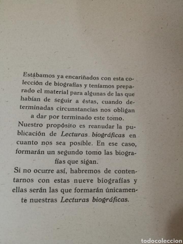 Libros antiguos: LECTURAS BIOGRAFICAS / NOVELAS CORTAS DE REVISTA LECTURAS ARTE Y LITERATURA 30S.TOMO ÚNICO VER INFO - Foto 35 - 101323167