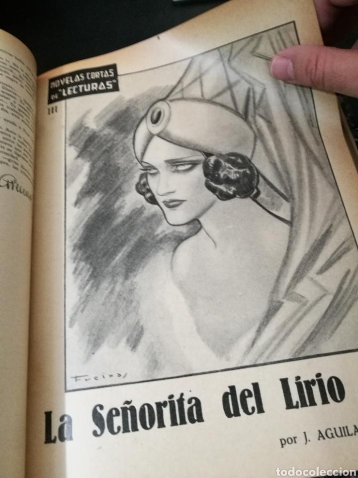 Libros antiguos: LECTURAS BIOGRAFICAS / NOVELAS CORTAS DE REVISTA LECTURAS ARTE Y LITERATURA 30S.TOMO ÚNICO VER INFO - Foto 43 - 101323167