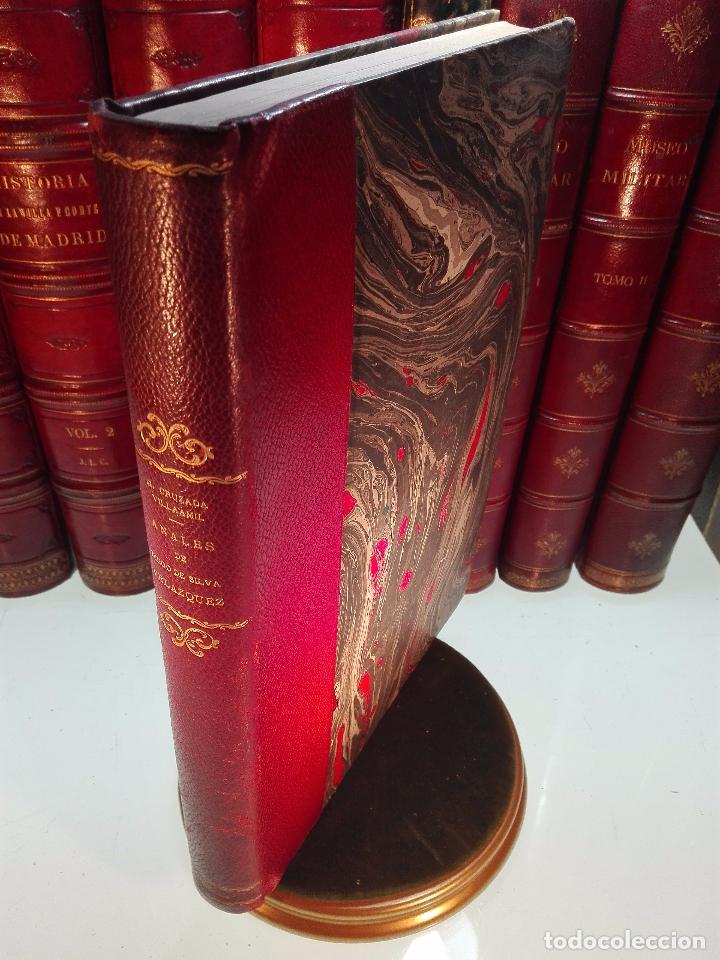 ANALES DE LA VIDA Y LAS OBRAS DE DIEGO DE SILVA VELAZQUEZ - G. CRUZADA VILLAMIL - MADRID - 1885 - (Libros Antiguos, Raros y Curiosos - Biografías )