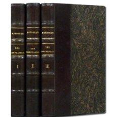 Livros antigos: ROUSSEAU.– LES CONFESSIONS. ÉDITION INTÉGRALE. LIBRAIRIE GARNIER FRÈRES [C.1920] EN HOLANDESA ÉPOCA. Lote 102669663