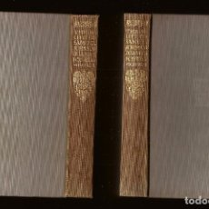 Libri antichi: THE LIFE OF SAMUEL JOHNSON - JAMES BOSWELL – ED. J. M. DENT & SONS, LONDON, 1931 – 2 VOLS.. Lote 102743771