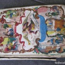 Libros antiguos: BIOGRAFIA INFANTIL ,LA NIÑEZ CERVANTES - NAPOLEON .. .JOAQUIN ROCA . ED BASTINOS 1863. Lote 103048783