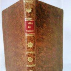 Libros antiguos: VIDA DE DON DIEGO DE TORRES VILLARROEL. Lote 103141619