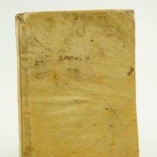 Libros antiguos: P. OVIDI NASONIS TRISTIUM IBRI V. ARGUMENTIS ET NOTIS HISPANICS ILLUSTRATI, S. XIX. 12X17,5CM. Lote 103264375