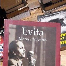 Libros antiguos: EVITA, MARYSA NAVARRO. ED. EDHASA. 2005. Lote 103347411