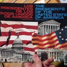 Libros antiguos: PRESIDENTES DE LOS ESTADOS UNIDOS DE AMERICA. EDICION BILINGUE. ED. AURA.. Lote 103348591