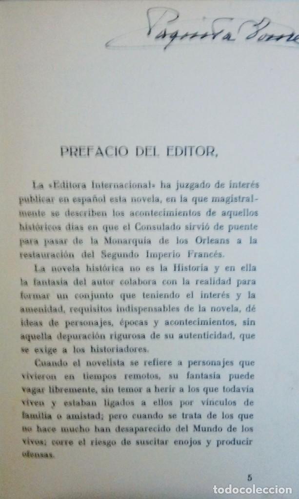 Libros antiguos: La emperatriz Eugenia el camino al trono - Foto 4 - 103939475