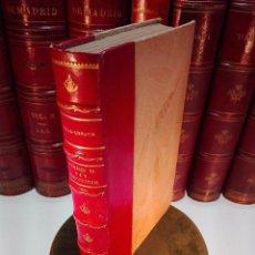 Libros antiguos: FERNANDO VII REY CONSTITUCIONAL - HISTORIA DIPLOMÁTICA DE ESPAÑA DE 1820 A 1823 - MARQUÉS DE VILLA-U. Lote 104180167