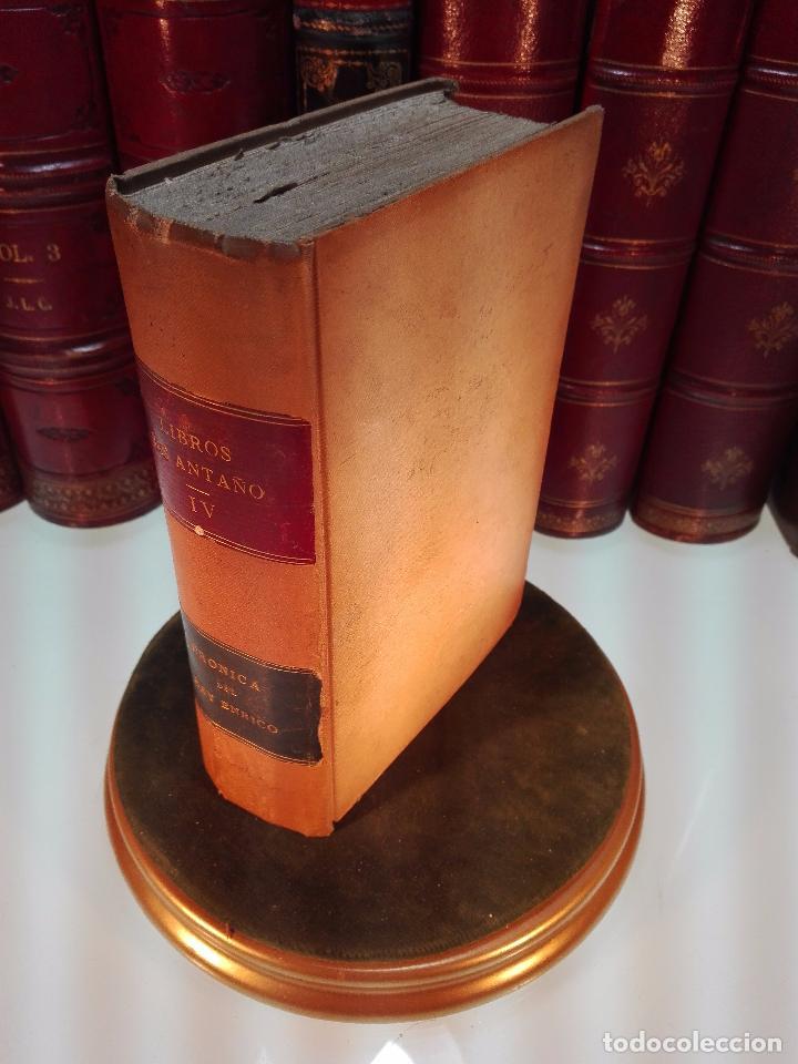 LIBROS DE ANTAÑO - CRÓNICA DEL REY ENRICO OTAVO DE INGLATERRA - POR EL MARQUES DE MOLINS - 1874 - (Libros Antiguos, Raros y Curiosos - Biografías )