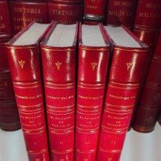 Libros antiguos: HISTORIA DEL REINADO DE CARLOS III EN ESPAÑA - D. ANTONIO FERRER DEL RIO - 4 TOMOS - MADRID - 1856 -. Lote 104885959