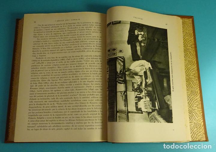 Libros antiguos: VIDAS DE HOMBRES ILUSTRES. 12 BIOGRAFÍAS COLÓN, EDISON, WAGNER, EL CID, TOLSTOI, SANTA TERESA - Foto 4 - 105290343