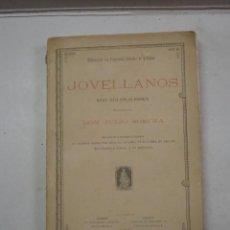 Libros antiguos: JULIO SOMOZA: JOVELLANOS. NUEVOS DATOS PARA SU BIOGRAFÍA (1885). Lote 106849955