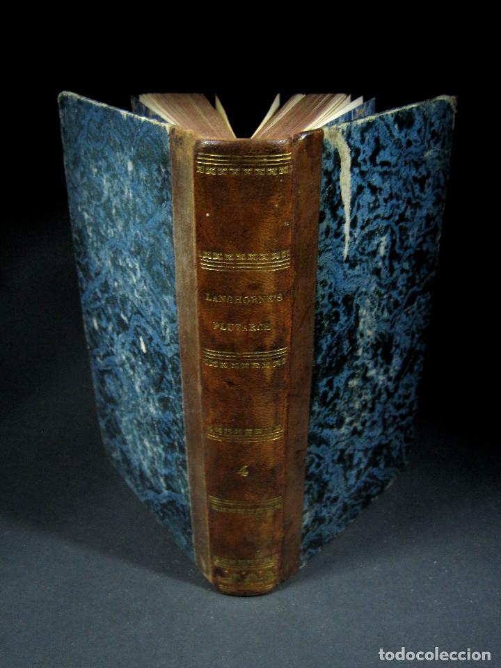 Libros antiguos: Año 1811 Julio César Alejandro Magno Pompeyo Antigua Grecia y Roma Plutarco Vidas paralelas Grabado - Foto 16 - 106969987