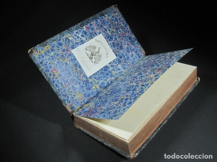 Libros antiguos: Año 1811 Julio César Alejandro Magno Pompeyo Antigua Grecia y Roma Plutarco Vidas paralelas Grabado - Foto 2 - 106969987