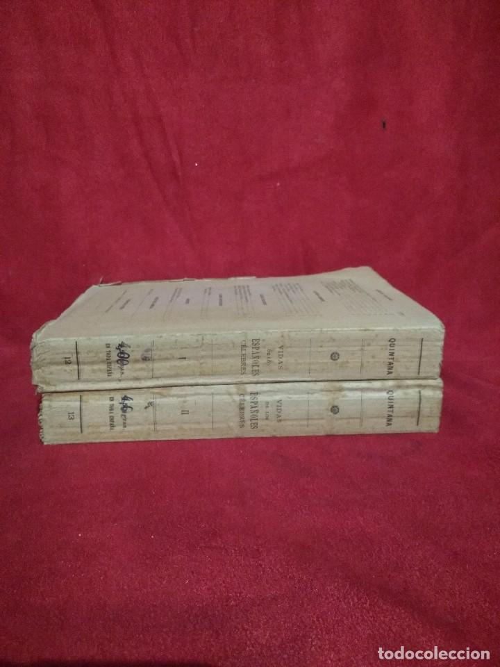 Libros antiguos: VIDAS DE LOS ESPAÑOLES CELEBRES TOMO I 1927 Y TOMO II 1928 MANUEL JOSE QUINTANA 1928 - Foto 3 - 107454343