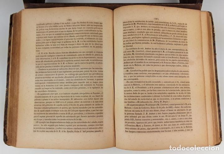 Libros antiguos: MEMORIAS DE VIVO. MINISTRO DE MÉJICO EN ESPAÑA DURANTE LOS AÑOS 1853/1854/1855. - Foto 3 - 107989123