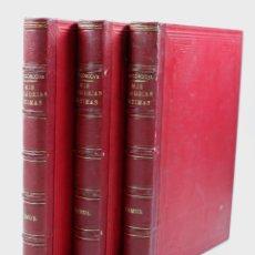 Libros antiguos: MIS MEMORIAS ÍNTIMAS, FERNANDO FERNÁNDEZ DE CÓRDOVA, 3. VOLÚMENES, 1886, MADRID. 21X29CM. Lote 108988611