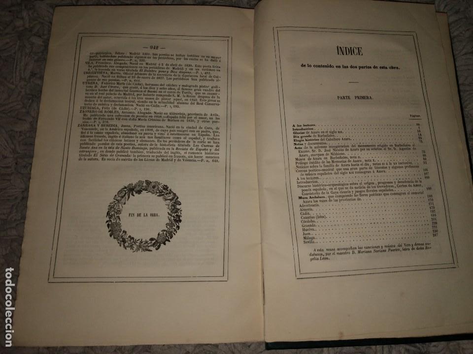 Libros antiguos: Glorias del Caballero Azara en el S. XIX Tomos I y II 1852-54 Basilio Castellanos de Losada Ed. Lujo - Foto 8 - 109050139