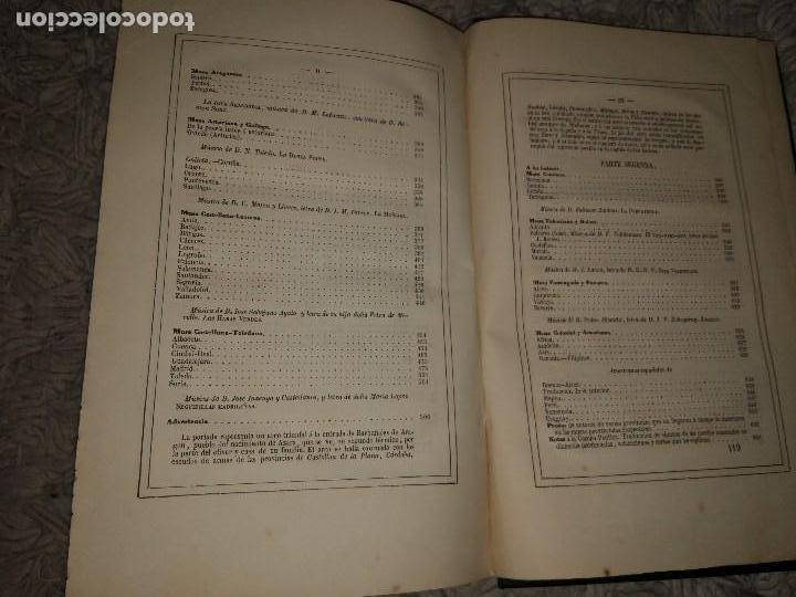 Libros antiguos: Glorias del Caballero Azara en el S. XIX Tomos I y II 1852-54 Basilio Castellanos de Losada Ed. Lujo - Foto 9 - 109050139