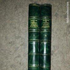 Libros antiguos: GLORIAS DEL CABALLERO AZARA EN EL S. XIX TOMOS I Y II 1852-54 BASILIO CASTELLANOS DE LOSADA ED. LUJO. Lote 109050139