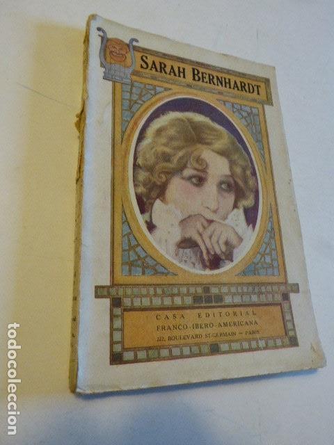 SARAH BERNHARDT. EMILIO GASCÓ CONTELL. CASA EDITORIAL FRANCO-IBERO-AMERICANA, 1927. 186 PP. ILUS (Libros Antiguos, Raros y Curiosos - Biografías )