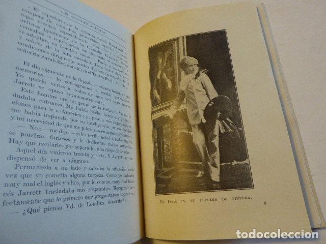 Libros antiguos: SARAH BERNHARDT. EMILIO GASCÓ CONTELL. CASA EDITORIAL FRANCO-IBERO-AMERICANA, 1927. 186 PP. ILUS - Foto 2 - 109152527