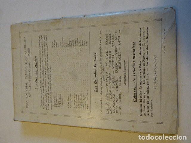 Libros antiguos: SARAH BERNHARDT. EMILIO GASCÓ CONTELL. CASA EDITORIAL FRANCO-IBERO-AMERICANA, 1927. 186 PP. ILUS - Foto 4 - 109152527