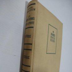 Libros antiguos: LOS GRANDES HOMBRES ANTE LA MUERTE. MANUEL IRIBARREN. PRIMERA EDICIÓN, 1951. Lote 109298135