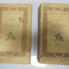 Libros antiguos: EL SOLITARIO Y SU TIEMPO. BIOGRAFIA DE SERAFIN ESTEBANEZ POR CANOVAS DEL CASTILLO. 2 TOMOS. LEER. Lote 109336311