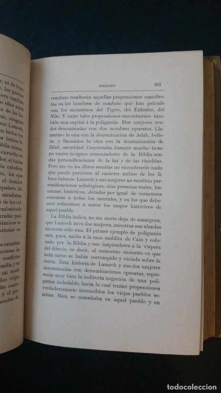 Libros antiguos: 1886 - EMILIO CASTELAR - GALERÍA HISTÓRICA DE MUJERES CÉLEBRES - 8 TOMOS, COMPLETO - Foto 5 - 109833335