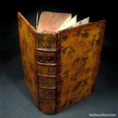 Libros antiguos: AÑO 1761 2 TOMOS EN UN VOLUMEN MEMORIAS DEL MARQUÉS DE SOLANGES 250 AÑOS DE ANTIGÜEDAD RARO. Lote 110795107