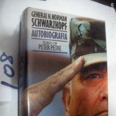 Libros antiguos: AUTOBIOGRAFIA GENERAL H.NORMAN SCHWARZKOPF. Lote 110833895
