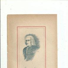 Libros antiguos: FRANCISCO DE ECHEVESTE RETRATO + BIOGRAFÍA (3 PP.) C. 1890 GUIPUZCOA MEXICO. Lote 111688751