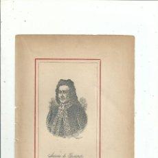 Libros antiguos: ANTONIO DE GASTAÑETA E ITURRIZABALAGA RETRATO + BIOGRAFÍA (2 PP.) C. 1890 GUIPUZCOA. Lote 111690967