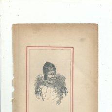 Libros antiguos: DOMENJON GONZALEZ DE ANDIA RETRATO + BIOGRAFÍA (3 PP.) C. 1890 GUIPUZCOA. Lote 111691315
