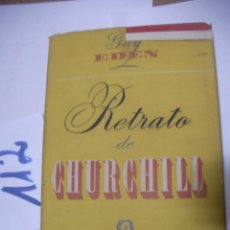 Libros antiguos: ANTIGUO LIBRO - RETRATO DE CHURCHILL. Lote 112062487