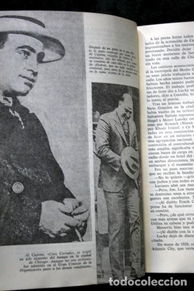Libros antiguos: LUCKY LUCIANO - Rey de las drogas y de la prostitución - Foto 2 - 113107863