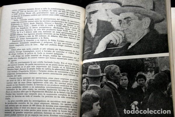 Libros antiguos: LUCKY LUCIANO - Rey de las drogas y de la prostitución - Foto 4 - 113107863