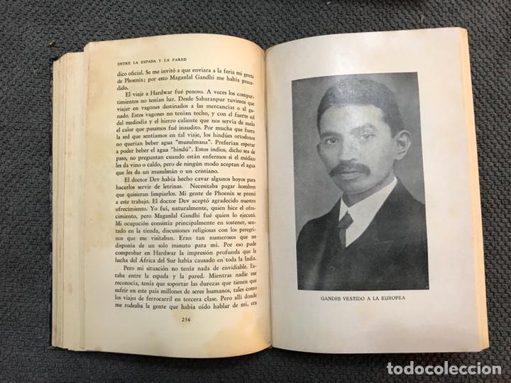 Libros antiguos: MAHATMA GANDHI su propia historia (a.1931) - Foto 3 - 113409518
