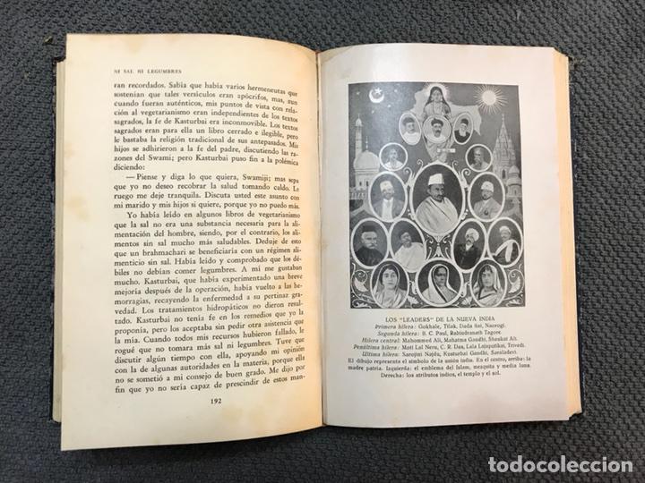 Libros antiguos: MAHATMA GANDHI su propia historia (a.1931) - Foto 4 - 113409518