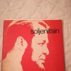 Libros antiguos: SOLJENITSIN, 1974, BIOGRAFÍA. Lote 113715855